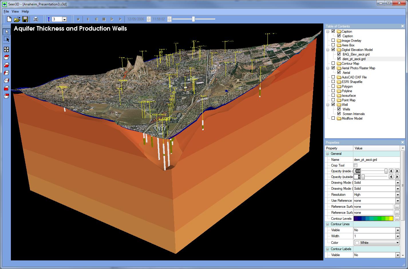 Contour Line Drawing In Autocad : Contour maps and digitize image program dfield d